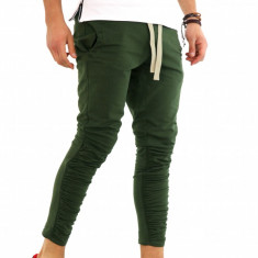 Pantaloni de trening - KAKI - COLECTIE NOUA - 9655 B4 - Pantaloni barbati, Marime: S, M, L, XL, Culoare: Din imagine