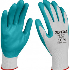 Manusi de protectie - latex + textil - XL