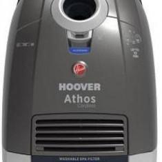 Aspirator Hoover ATC18LI 011 Athos 5l Gri - Aspirator cu sac