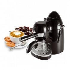 Espressor de cafea manual, 750W, 4 bari, 240 ml, negru, Home