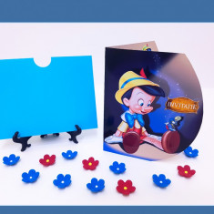 Invitatii Botez - Pinocchio