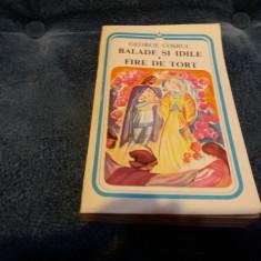 GEORGE COSBUC - BALADE SI IDILE FIRE DE TORT - Carte poezie