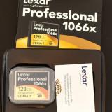 Card memorie CF Lexar Professional 128GB