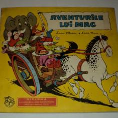 Aventurile lui Mac, Lucia Olteanu, Livia Rusz, 1971, editia a doua - Reviste benzi desenate