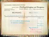 Act vechi-proiect Lege-Rechnung August Prasch Wien 1946-cca 20_15 cm.