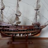 Macheta corabie - galionul Sf. Ioan Botezatorul, 1:50
