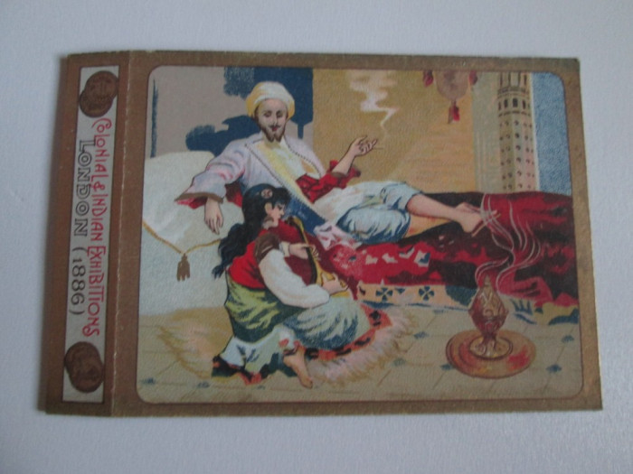Pachet gol(fara sertar) litho colectie  tigari Egiptene Aristocratic din anii 30