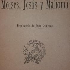 BARON D'HOLBACH – MOISES, JESUS Y MAHOMA - Carte in spaniola