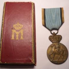 Medalia Centenarul Regelui Carol I 1839 1939 la Cutie - Ordin