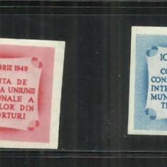 ROMANIA 1949  LP. 258 A, Nestampilat