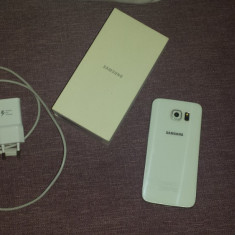 Vand Samsung S6 - Telefon mobil Samsung Galaxy S6, Alb, 32GB, Neblocat