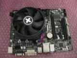 Kit placa de baza GIGABYTE GA-F2A55M-DS2  / AMD 750K QUADCORE 3.40ghz,functional, Pentru AMD, FM2+, DDR 3