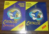 Lot 3 cataloage Editura Academiei Romane 1998, 1999, 2000 catalog editorial