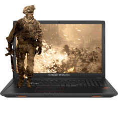 Laptop Asus ROG GL753VE-GC105 17.3 inch FHD Intel Core i7-7700HQ 16GB DDR4 1TB HDD nVidia GeForce GTX 1050 Ti 4GB Endless OS Black