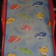 Vand pat copii FULGER MC QUEEN - Pat tematic pentru copii, 160X70cm, Rosu