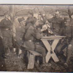 FOTOGRAFIE MILITARI 1942 - Carte Postala Moldova dupa 1918, Necirculata