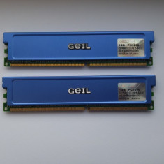 MEMORIE RAM GEIL DDR 2X1 GB 400MHZ