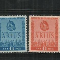 ROMANIA 1950 LP. 274 - Timbre Romania, Nestampilat
