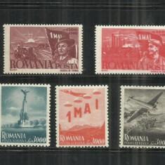 ROMANIA 1947 LP. 217, Nestampilat