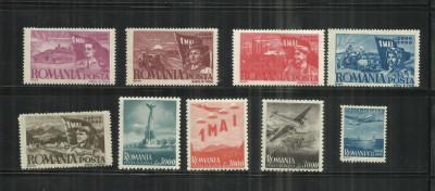 ROMANIA 1947 - 1 MAI ZIUA MUNCII, MNH - LP. 217 foto