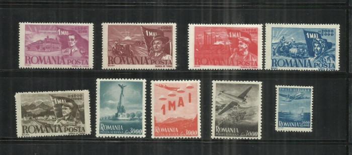 ROMANIA 1947 - 1 MAI ZIUA MUNCII, MNH - LP. 217