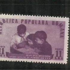 ROMANIA 1950 LP. 265 - Timbre Romania, Nestampilat