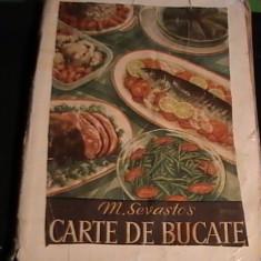 CARTE DE BUCATE-M. SEVASTOS-304 PG A 4- - Carte Retete traditionale romanesti