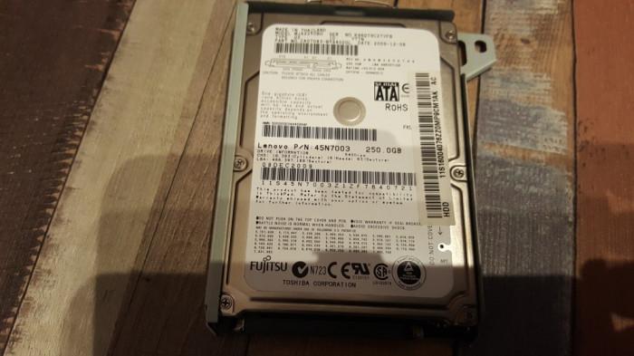 HDD hard disk Playstation 3 ps 3 ps3  capacitate 250 Gb + suport rack slim/fat
