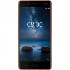 Smartphone Nokia 8 64GB Dual Sim 4G Brown - Telefon Nokia
