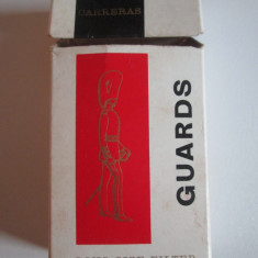 Pachet gol colectie 10 tigari Guards fabricate in Malta anii 60