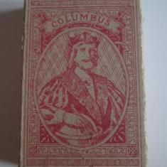 Pachet gol(fara sertar) colectie tigari 10 Egiptene Columbus din anii 30 - Pachet tigari
