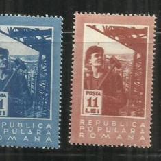 ROMANIA 1950 LP. 268 - Timbre Romania, Nestampilat