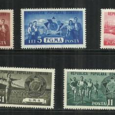 ROMANIA 1950 LP. 273 - Timbre Romania, Nestampilat