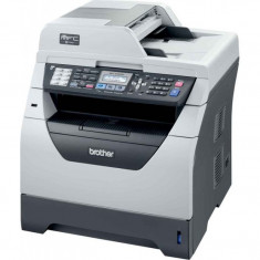 Imprimanta Multifunctionala Brother MFC-8380DN, 30 PPM, 1200 x 1200 DPI, Duplex, Retea, A4, Monocrom