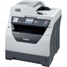 Imprimanta Multifunctionala Brother MFC-8380DN, 30 PPM, 1200 x 1200 DPI, Duplex, Retea, A4, Monocrom