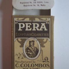 Pachet gol colectie 10 tigari Egiptene Pera din anii 30