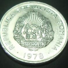 Moneda 5 Lei - RS ROMANIA, anul 1978 *cod 5077 - UNC DIN FASIC - Moneda Romania, Aluminiu