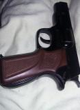 pistol metalic de jucarie vintage,pistol de jucarie vintage functional,T.GRATUIT