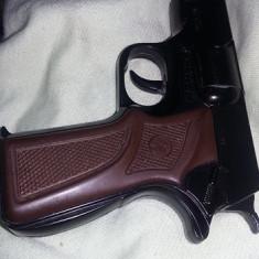 Pistol metalic de jucarie vintage, pistol de jucarie vintage functional, T.GRATUIT