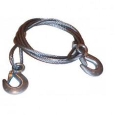 Sufa tractiune, cablu de remorcare din otel 4m - Sufa Auto Automax