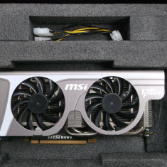 Placa video Gaming MSI GeForce GTX 460 Hawk 1GB DDR5 256-bit DX11 - Placa video PC Msi, PCI Express, nVidia