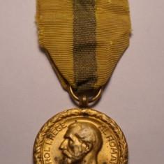Medalie Regele Carol I - Meritul Comercial si Industrial Clasa 1