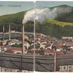 RESITA 1927 COMPUSA DIN 2 PARTI, ROMANIA. - Carte Postala Banat dupa 1918, Necirculata, Fotografie