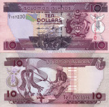 INSULELE SOLOMON 10 dollars ND 2011 UNC!!!