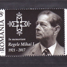 REGELE MIHAI 2017, MNH ROMANIA. - Timbre Romania, Regi, Nestampilat