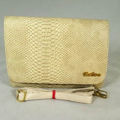 Plic/geanta dama bej+CADOU, Culoare: Din imagine, Marime: Medie