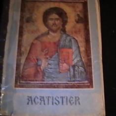 ACATISTER-TIPARIT CU BINECUVINTAREA PARINTELUI TEOCTIST- PARTIARHUL -B O R - - Carte de rugaciuni