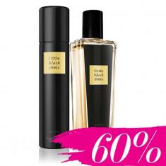 Spray parfumat Little Black Dress Avon 75ml+deodorant cadou - Parfum femeie Avon, Seturi