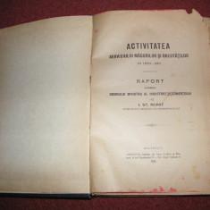 Activitatea serviciului masuratorilor si greutatilor in 1910 - 1911 - An 1911 - Carte veche