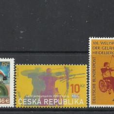 SPORT PERSOANE CU HANDICAP LOCOMOTOR  IN SCAUN RULANT, timbre mnh, SA32